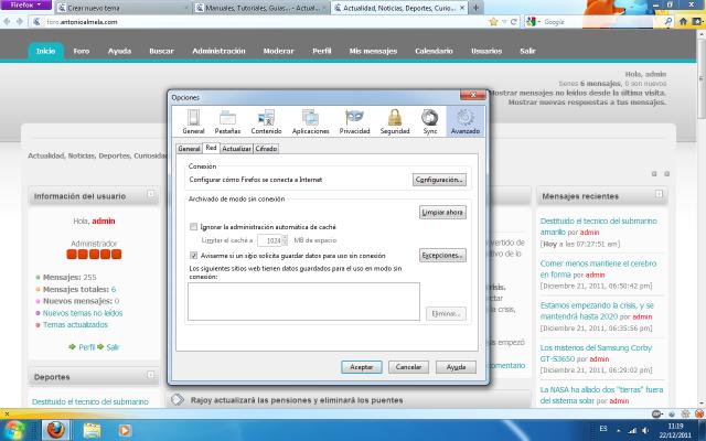 Como configurar un proxy - Cambiar la I.P.