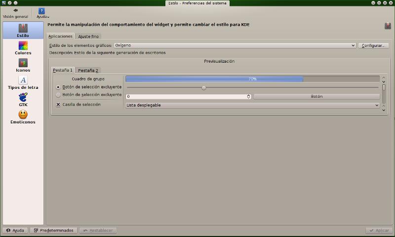 Reducir consumo KDE