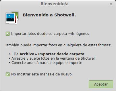 Shotwell actualizado Linux