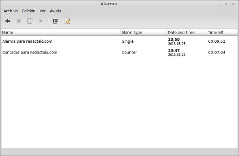 Instalar alarm-clock en Ubuntu 13.04 width= height=