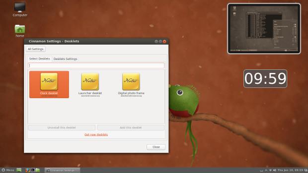 Entorno Cinnamon Linux mint width= height=