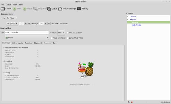 Handbrake 0.9.9 en Ubuntu width= height=