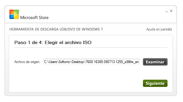 insertar la imagen ISO de Windows 8 width= height=