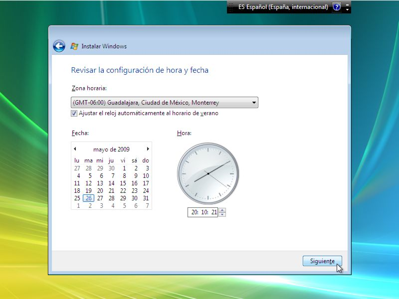 Instalar Windows Vista Paso 9 width= height=