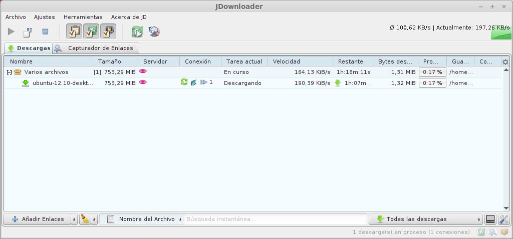Instalar Jdownloader 2