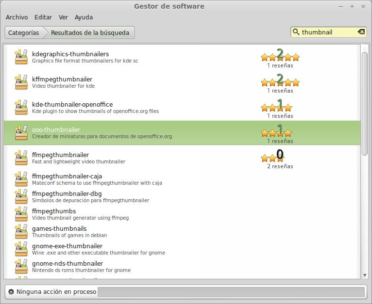 Tutorial de instalación de ooo-thumbnailer en ubuntu previsualizador de archivos