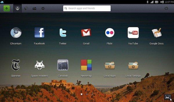 Captura de Joli O.S. Linux
