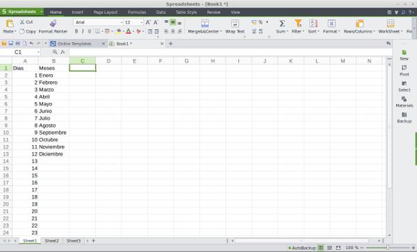 Excel Kingsoft Linux