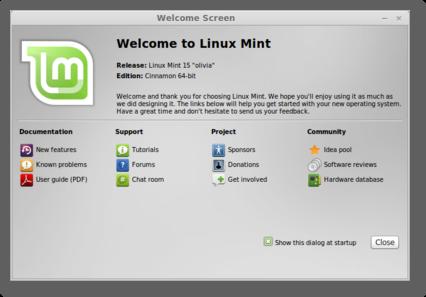 Linux Mint 15 Xfce width= height=