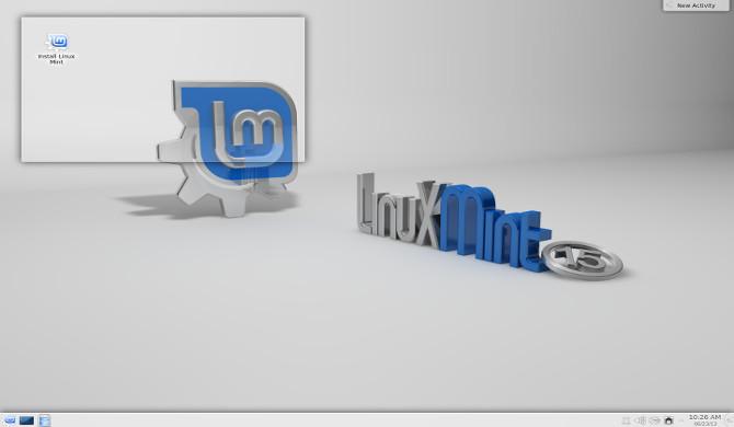 Linux Mint 15 KDE final width= height=