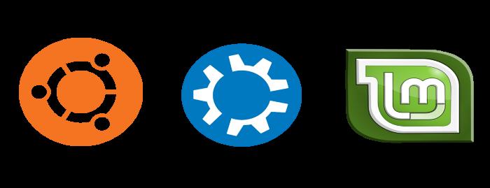 Logos de Principales distribuciones Linux width= height=