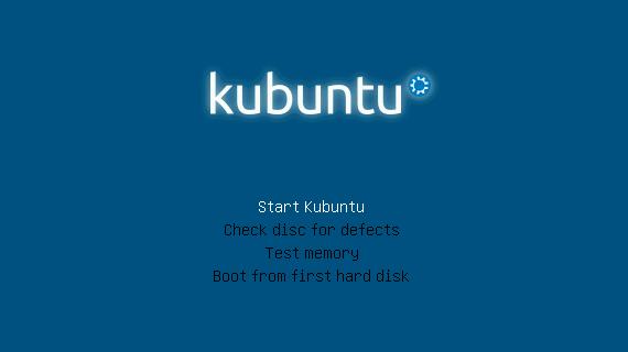 Menú al instalar Kubuntu 12.10 width= height=