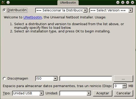 Para ISO Manjaro Unetbootin width= height=