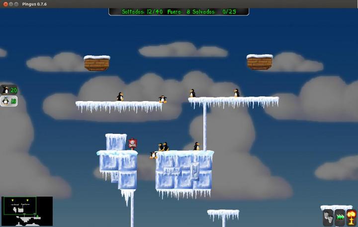 Pingus juego Lemmings width= height=
