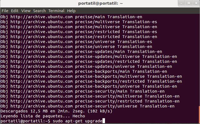 Cómo actualizar linux desde varias formas posibles