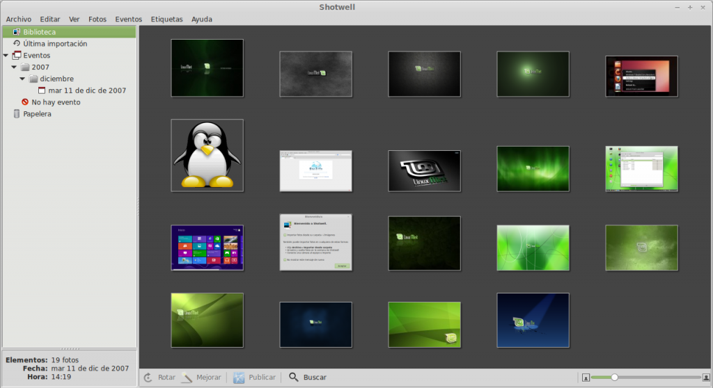 Shotwell 0.14 Ubuntu