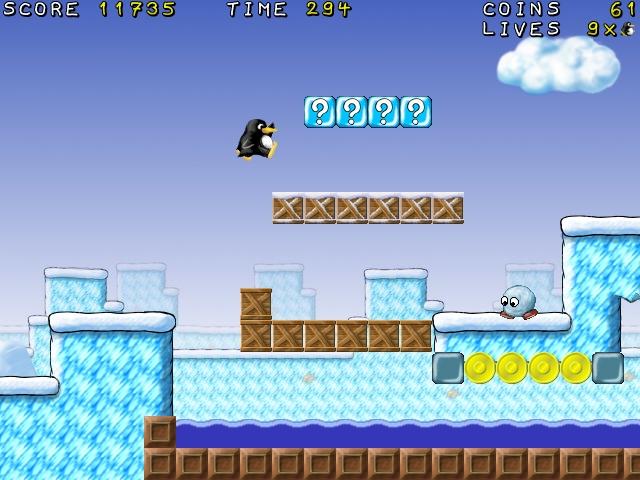 Gameplay de Supertux