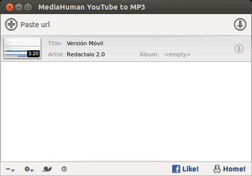 Youtube to MP3 en Linux width= height=