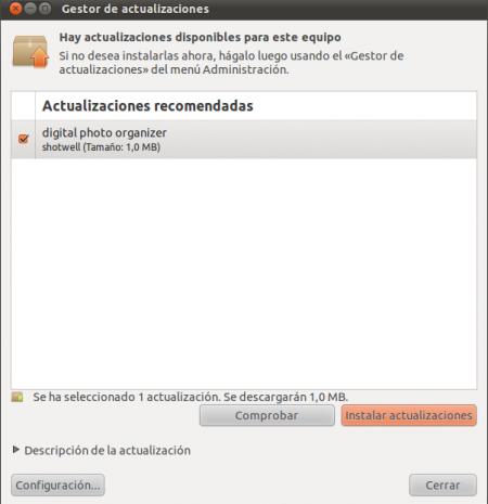 Actualizar el sistema y aplicaciones en Ubuntu