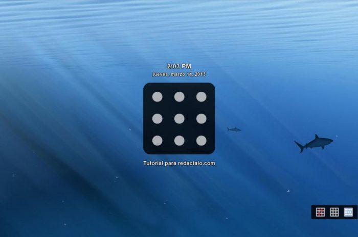 Bloquear la pantalla de Windows con patrón