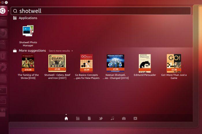 Desactivar búsquedas Amazon en Ubuntu