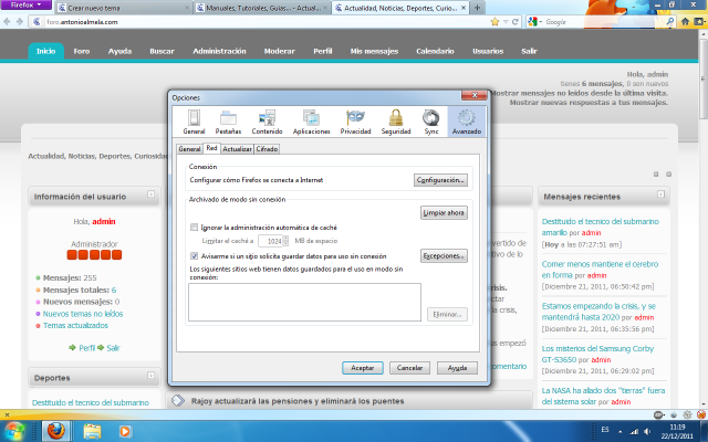 Configurar un proxy en Mozilla Firefox – Cambiar la I.P.