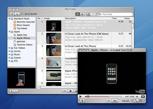 Descargar videos de YouTube desde Mac OS X