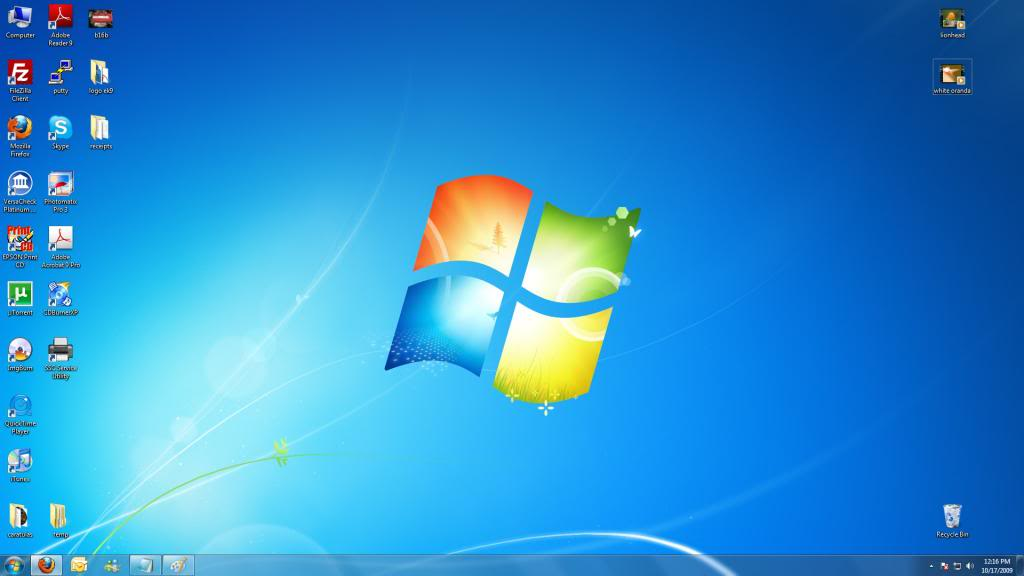 Escritorio Windows 7