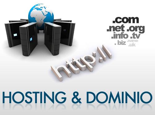 Hosting y dominio en la web width= height=