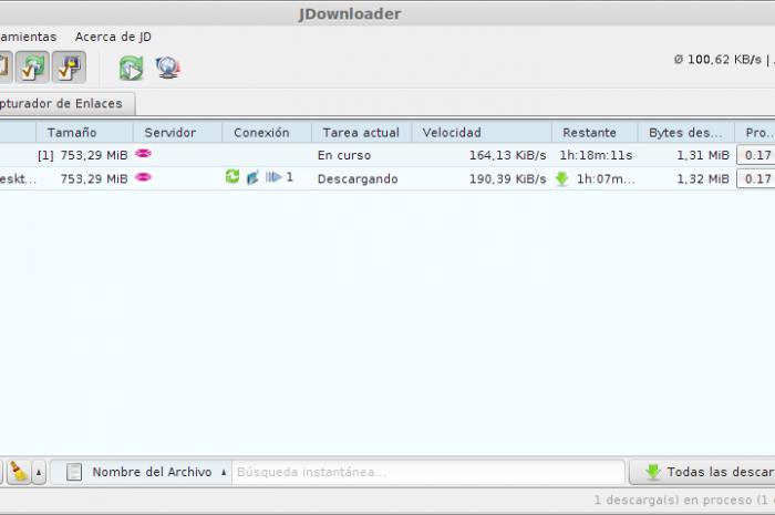 Instalar Jdownloader 2 en Windows y Linux