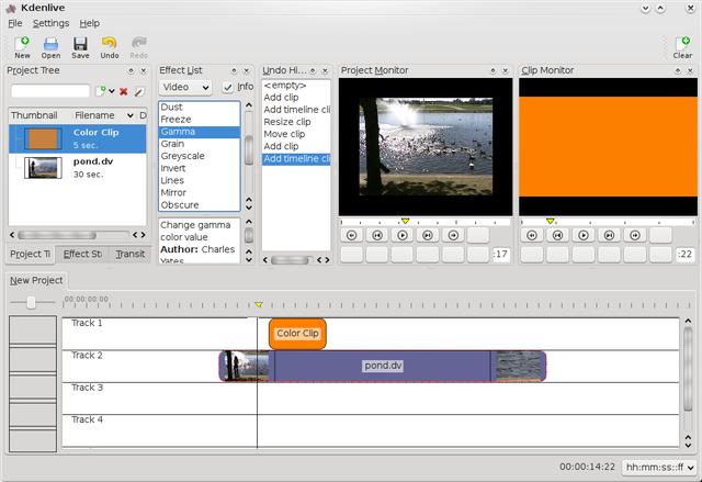 Kdenlive, editor de vídeo para Ubuntu y derivados