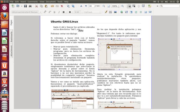 Visor y editor de PDF gratuito en Ubuntu con Master PDF editor