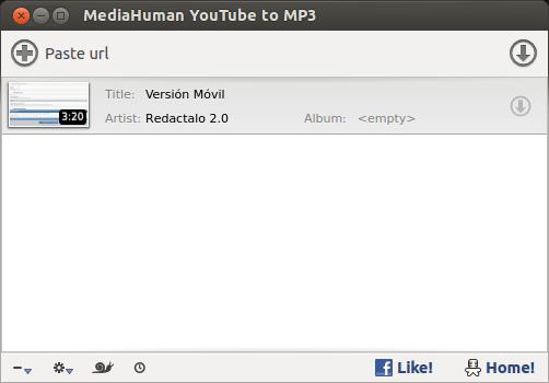 Descargar y convertir vídeos de youtube a MP3 en Ubuntu 14.04 y anterior