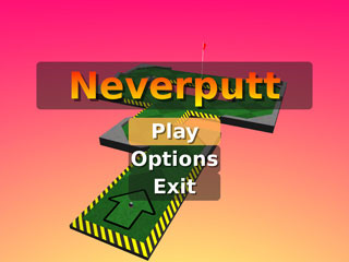 Neverputt, juego minigolf para Windows y Linux