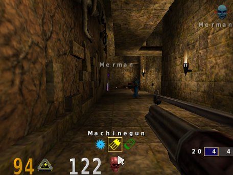 OpenArena, juego libre de acción en primera persona