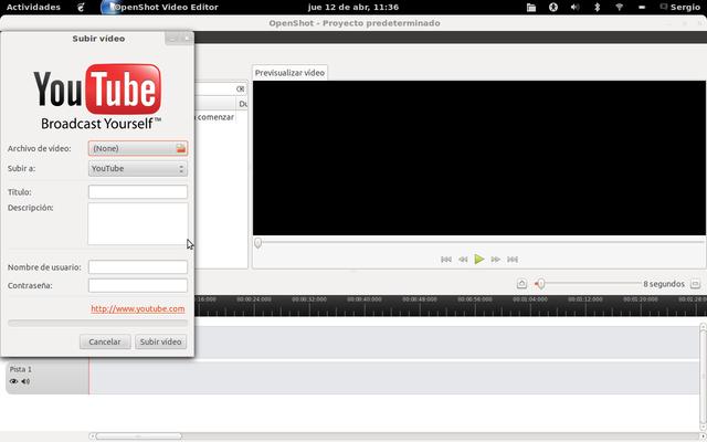 Openshot, alternativa a Windows Movie Maker, en Linux