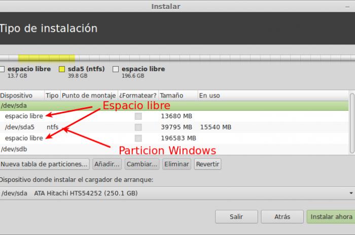 Crear partición /home separada al instalar una distribución Linux
