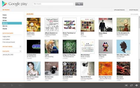 Escucha música desde Google Chome con Google Play Music