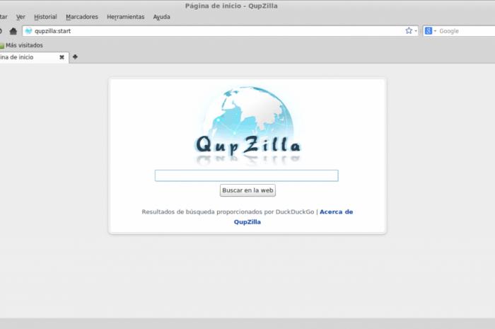 QupZilla, el ligero navegador multiplataforma