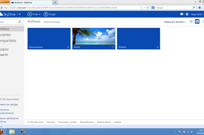 Cómo usar SkyDrive en Windows como almacenamiento en la nube
