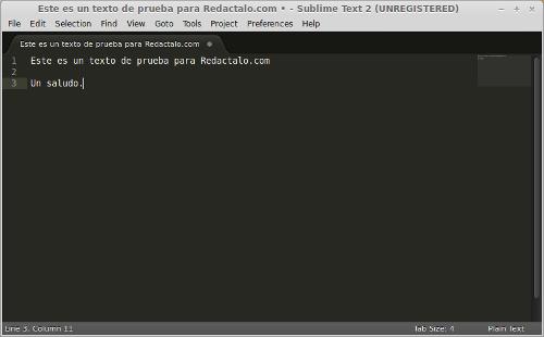 Sublime text 2, editor de texto para programar en Ubuntu