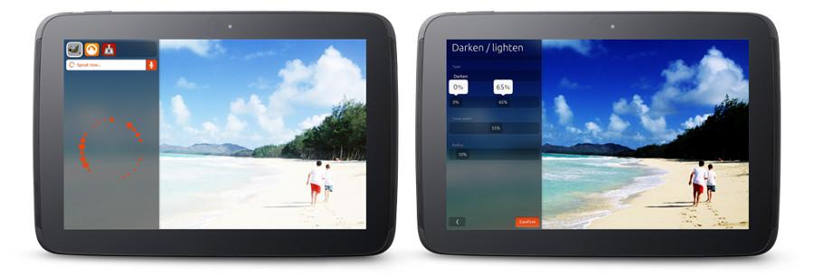 Ubuntu para tablet control por voz width= height=