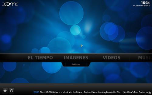 Instalar XBMC centro multimedia en Windows, Linux y Mac