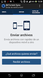 Bittorrent sync enviar archivo Android width= height=