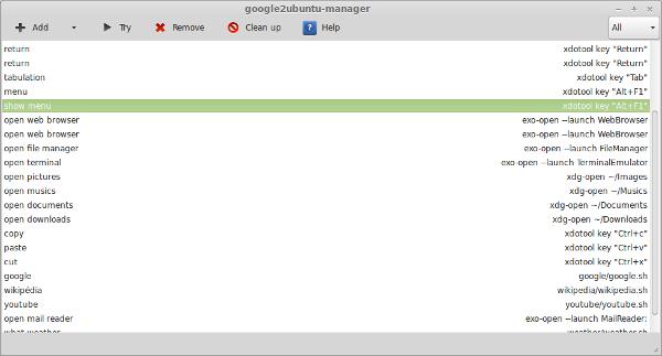 Reconocimiento por voz en Linux con Google2Ubuntu