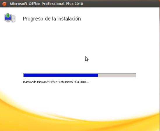 Instalación de MS Office 2010 en Linux
