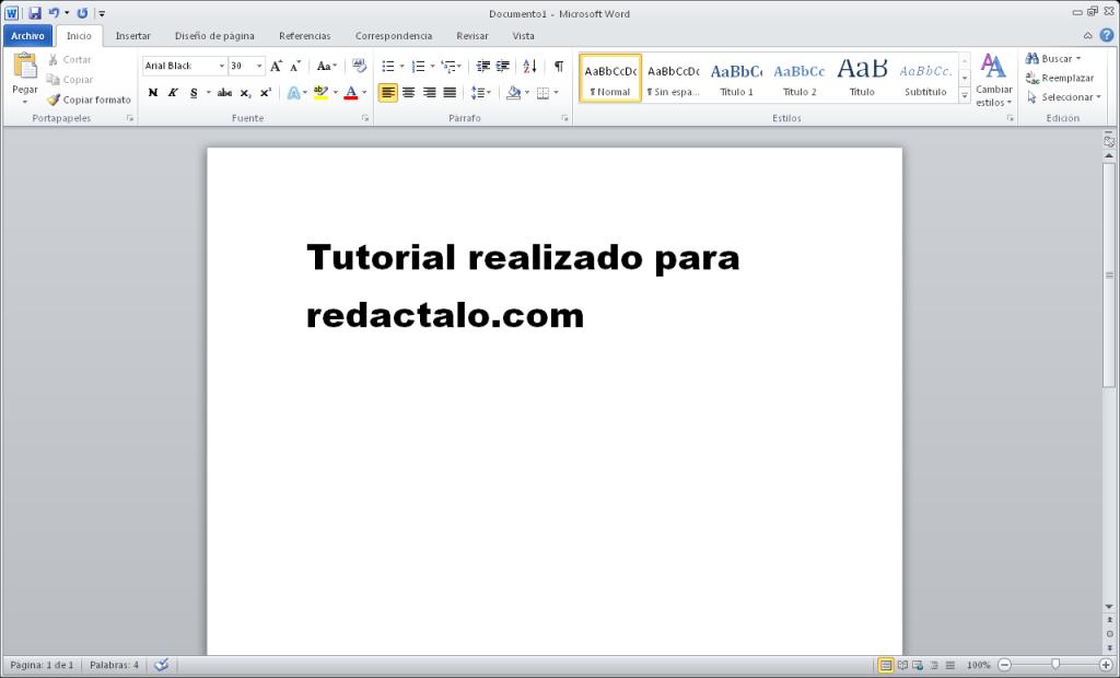 Microsoft Office 2010 word en Ubuntu