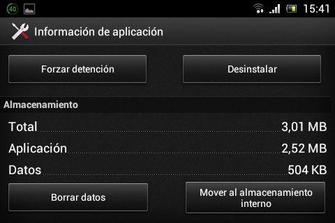 Mover las aplicaciones de Android a la memoria SD