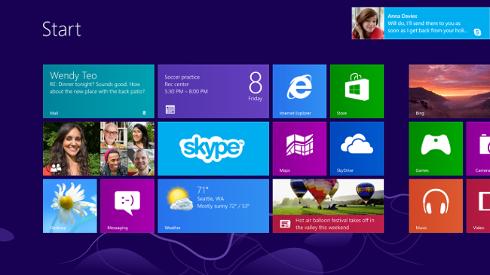 Menu Metro Windows 8 width= height=
