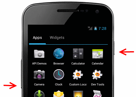 Realizar capturas de pantalla en Android 4.0 o superior